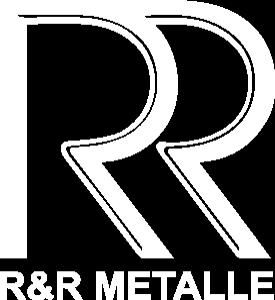 R&R Metalle - Logo Weiß